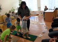 """Физкультурное занятие группы """"Чебурашка"""" для детей с ограниченными возможностями здоровья """"Путешествие в царство """"Нептуна"""""""