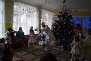танец льдинок