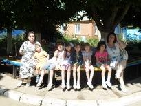 """Дети детского дома на отдыхе в детском-оздоровительном лагере \""""Орленок\"""" Неклиновского района"""