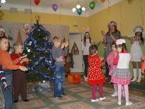 Воспитанников детского дома поздравили с Новым годом предприниматели Октябрьского района г. Ростова-на-Дону