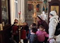 Воспитанники детского дома посетили храм св. Иоанна Кронштадского г. Ростова-на-Дону