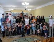 Праздник с учащимися школы №32