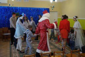 Хоровод с Дедом Морозом