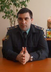 Внуков А.И. в центре помощи детям