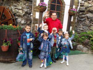 детский праздник в кафе Бреда