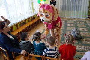 Подарили праздник детям.